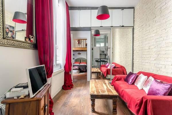 Appartement du Quartier Latin - Salon